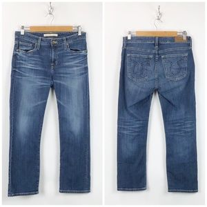Big Star Dark Wash Maddie Straight Leg Jeans
